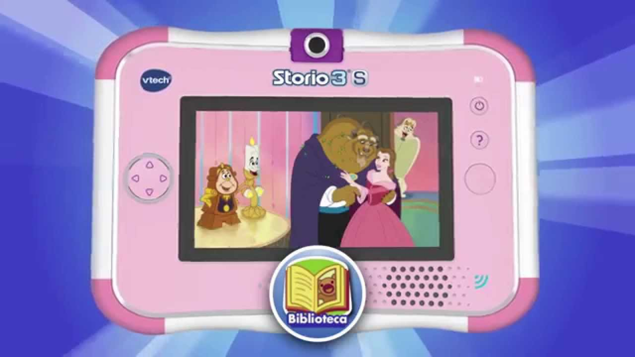 Storio 3s de vtech youtube for Housse storio max 7