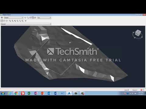 Calculate the Cut & Fill Volume with NGL & Design Excavation in AutoCad Civil 3d in Urdu/Hindi
