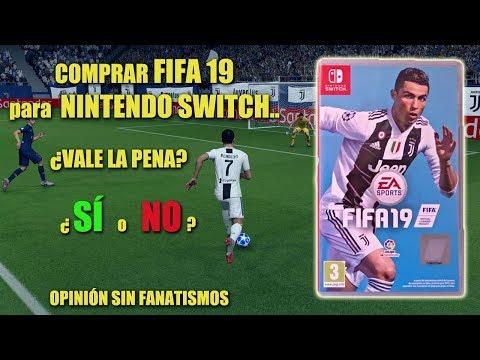 ¿COMPRAR FIFA 19 Para NINTENDO SWITCH? || OPINIÓN TRAS JUGARLO