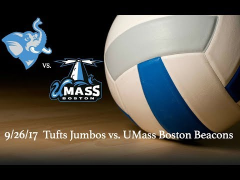 Fall 2017 - Volleyball - Tufts Jumbos vs. UMass. Boston Beacons