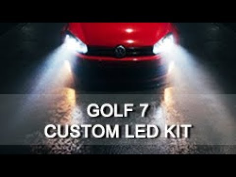 How to upgrade VW Golf 6 & Golf 7 LED headlight in 30 second, Here is the Solution.