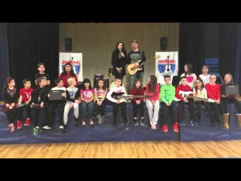 Traveling Guitar Foundation at West Freehold School