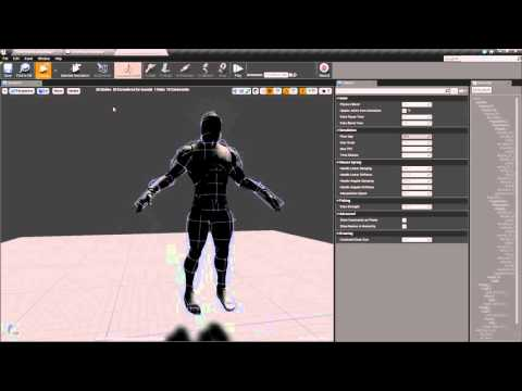 Ragdoll 101 - Part 10 Changes to the physics asset (full body blend between  animation and physics)