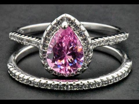 sterling-silver-engagement-wedding-pink-sapphire-bridal-lab-diamond-ring-set
