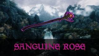 SKYRIM : Необычный квест Незабываемая ночка и Даэдрическое Оружие Роза Сангвина