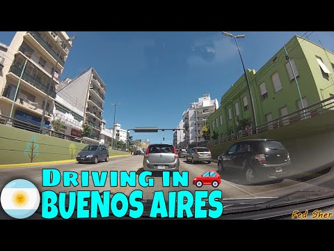 Driving in Buenos Aires (from Agronomía to Caseros)