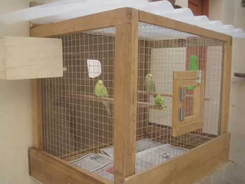 image gallery homemade parrot cage