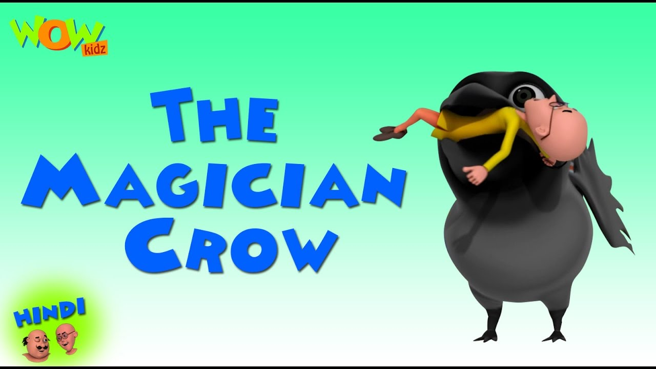 The Magician Crow- Motu Patlu in Hindi WITH ENGLISH, SPANISH & FRENCH SUBTITLES