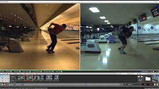 Bowling Lesson 8319 1st Video