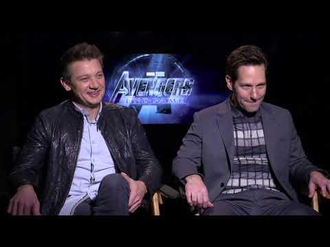Avengers Endgame Renner & Rudd Interview