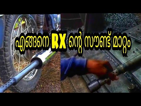 HOW TO CHANGE SOUND ON YAMAHA RX 100