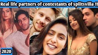 Splitsvilla 11 Contestants real life partners || splitsvilla 11 || mtv || gaurav || anushka