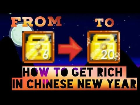 Growtopia | How To Get Rich In Chinese New Year Event