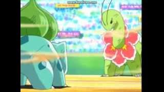 pokemon 5.sezon 59.bölüm meganium vs bulbasaur