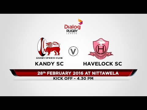 Kandy SC v Havelock SC - Dialog Rugby League 2015/16