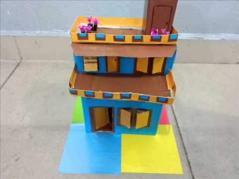 cara membuat miniatur rumah sederhana funnycat tv