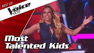 TOP 10 | MOST TALENTED SINGERS in The Voice Kids thumbnail