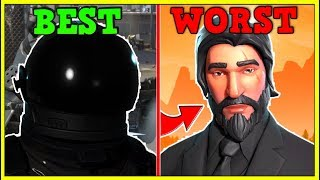 RANKING EVERY SEASON 2/3 SKINS FROM WORST TO BEST! | Fortnite Battle Royale!