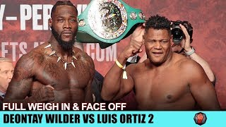deontay-wilder-vs-luis-ortiz-2-full-weigh-in-face-off-video-mgm-grand