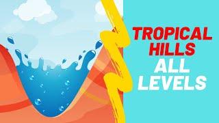 Splash Canyons - Tropical Hills Walkthrough All Levels