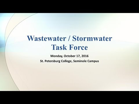 Countywide Wastewater / Stormwater Task Force Kick-Off Meeting