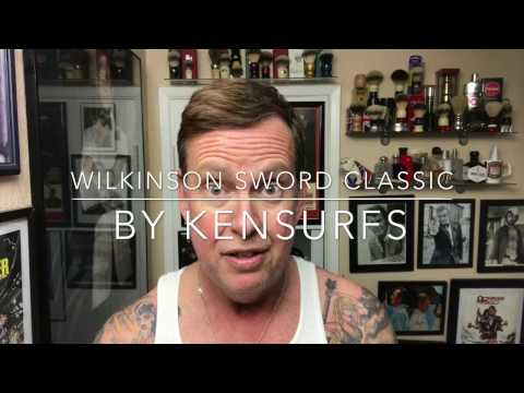 Wilkinson Sword Classic. Razor and Blades. 1st use and opinion.