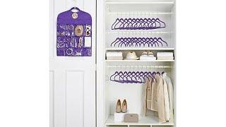 JOY SpaceSaving Huggable Hangers Buy 24, Get 12   Organi...