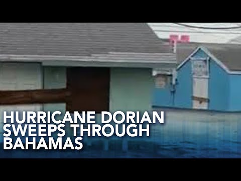 Green Turtle Cay Flooded As Hurricane Dorian Sweeps Through Bahamas