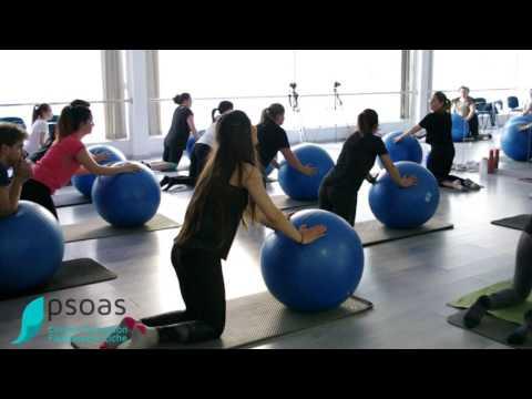 Ejercicios Pilates Suelo Fitball