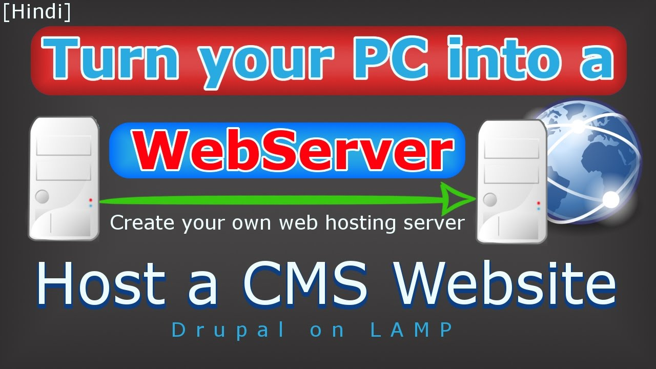 how to host your own web server pdf
