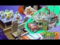 Build Crazy Dave's Time Machine RV Penny with Interior Plants VS Zombies PVZ 2 It's About Time DIY