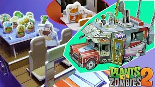 Build Crazy Dave's Time Machine RV Penny with Interior Plants VS Zombies PVZ 2 It's About Time DIY thumbnail