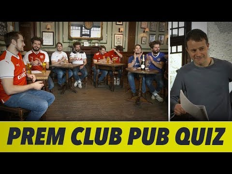 When Premier League Clubs Do A Pub Quiz