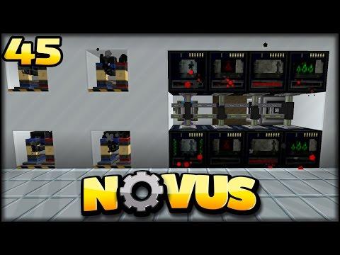 ERZE Maschina   Minecraft NOVUS #45   Minecraft Mod Pack