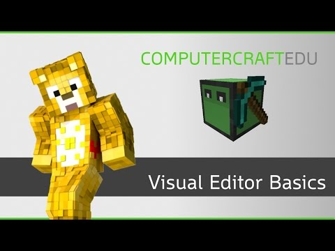 ComputerCraftEDU Tutorial - Visual Editor Basics