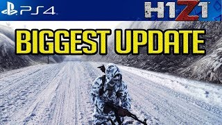 H1Z1 PS4: HUGE UPDATE COMING! COMBAT SHOTGUN NERF! NEW EMP CROSSBOW! VEHICLE DAMAGE!? & MORE!