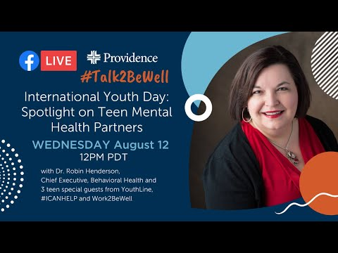International Youth Day: Spotlight on teen mental health partners