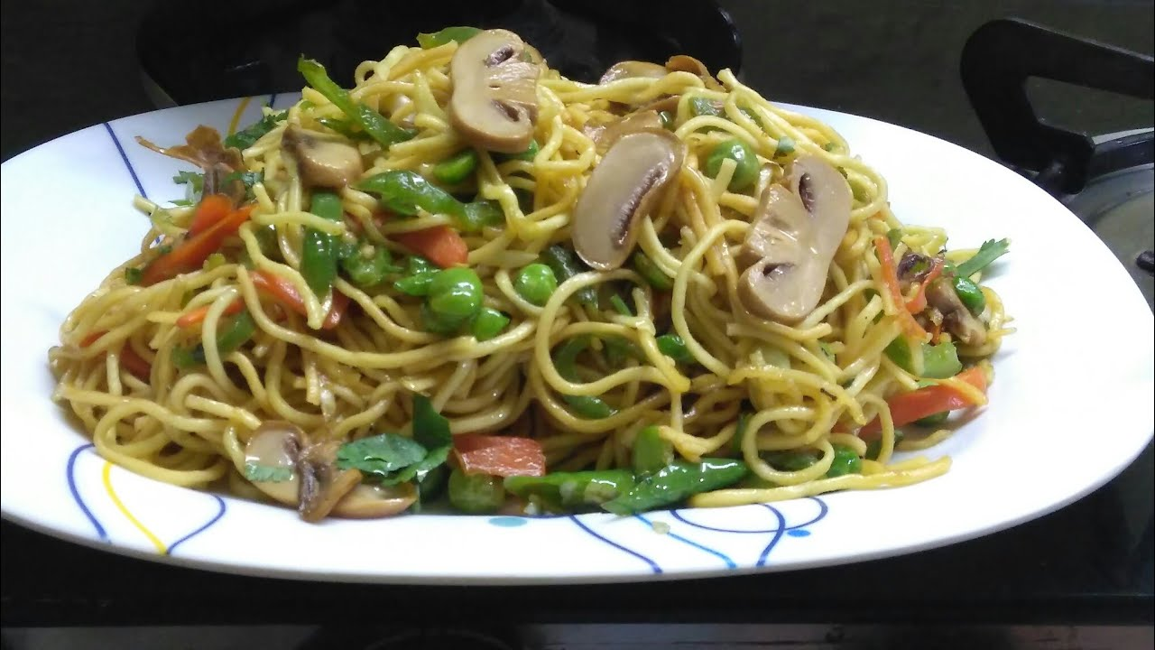 Without onion garlic mushroom chowmeinveg chinese chow mein recipe without onion garlic mushroom chowmeinveg chinese chow mein recipe forumfinder Images