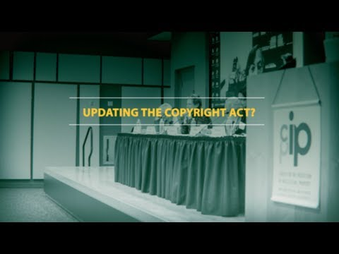 Ideas for updating the Copyright Act