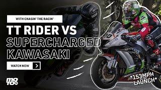 TT Rider Meets Supercharged Kawasaki | ZH2 SE Overview