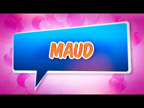 Carte Bonne Fete Maud.Joyeux Anniversaire Maud Youtube