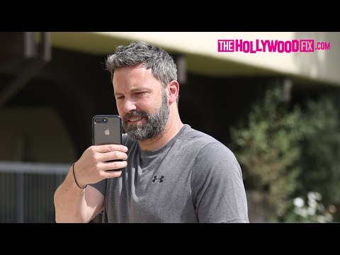 Ben Affleck Turns The Tables On Paparazzi While Arriving To Church With His Kids 5.6.18