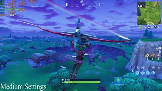 Fortnite Battle Royale Ryzen 1700x GTX 1080 Both Stock FPS 2018