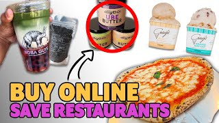 Save L.A. Restaurants By Buying Their Products Online | News Bites
