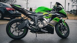 m4 gp exhaust install 18 zx 6r