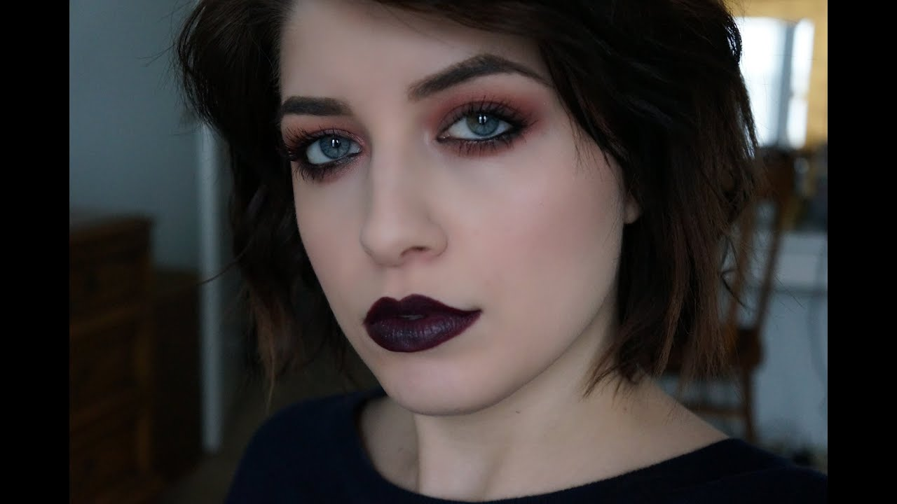 90s Grunge Makeup Tutorial Youtube