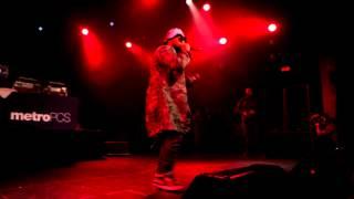 """Schoolboy Q """"Fuck LA"""" at Oxymoron release show"""
