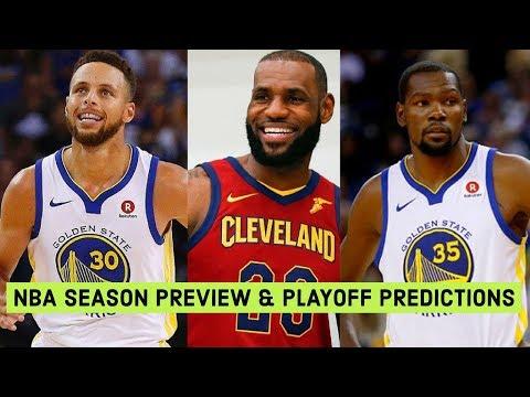 2017-2018 NBA Season Preview! NBA Playoff Predictions! Who Wins The Title?