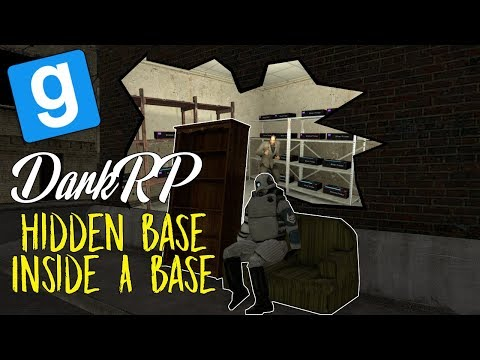 Building A Base Inside Someone's Base! | Gmod DarkRP