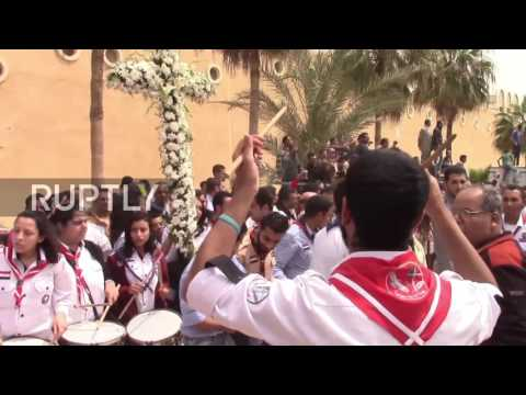 Egypt: Funeral held for IS church bombing victims in Alexandria